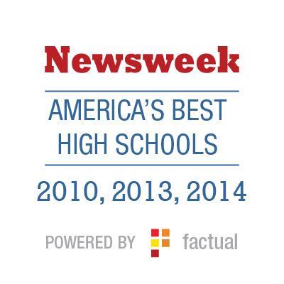 Newsweek America's Best High Schools 2010, 2013, 2014